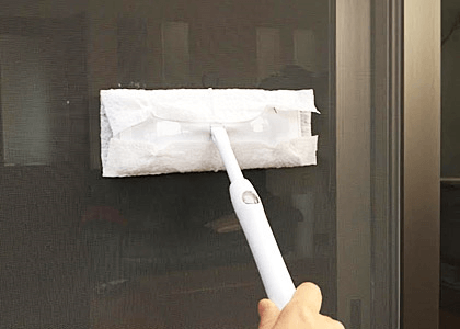 窓ガラス掃除のコツ  ~おすすめ掃除方法~